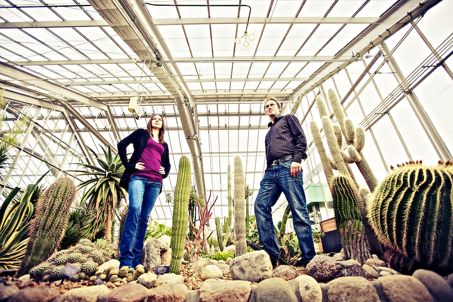 engagement photos ann arbor mi botanical gardens
