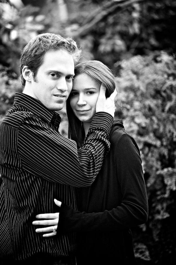 ann arbor michigan engagement photos botanical gardens