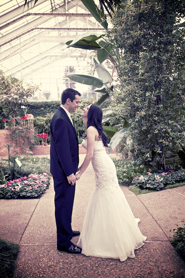 Matthaei Botanical Gardens Wedding 01