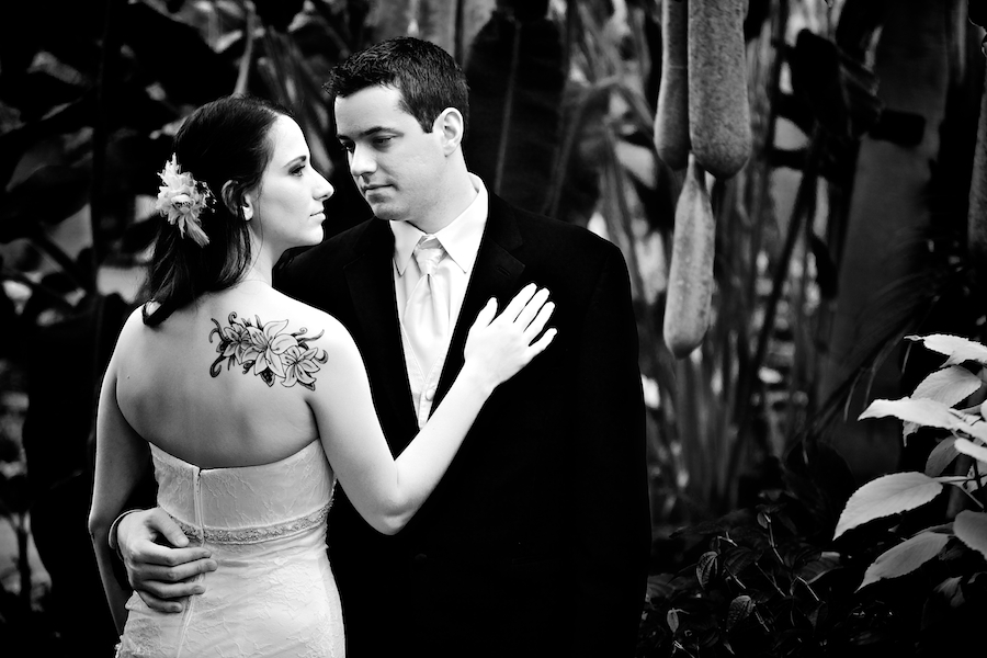 Matthaei Botanical Gardens Wedding 08
