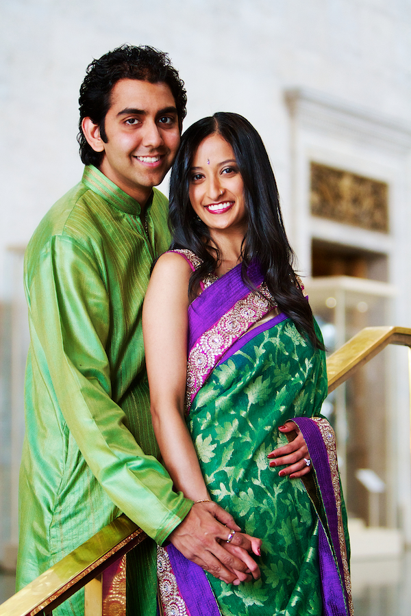 Indian Engagement Photos 007