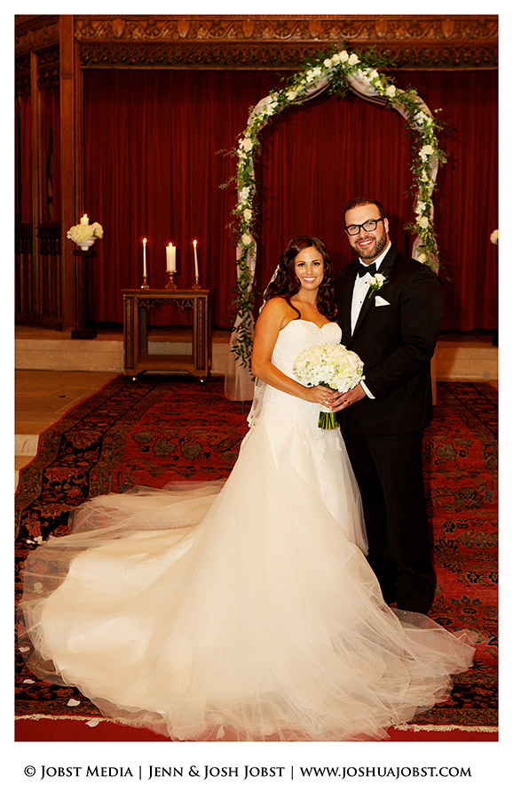 Masonic Temple Wedding Detroit MI 12