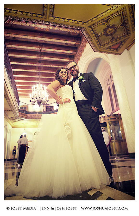 Masonic Temple Wedding Detroit MI 23