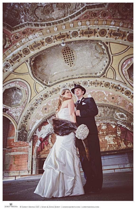 Artistic Vintage Wedding 08
