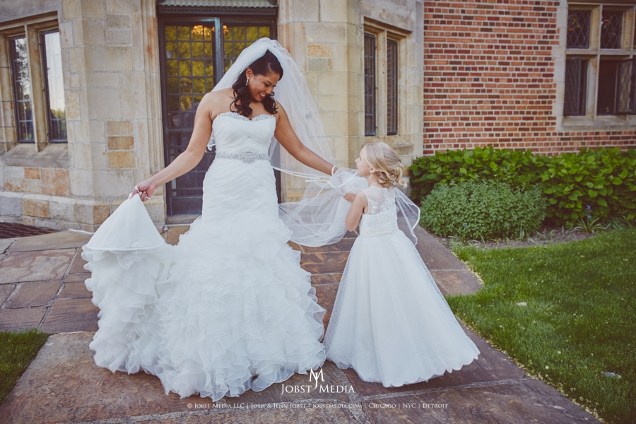 Meadowbrook Hall Wedding Detroit MI 18