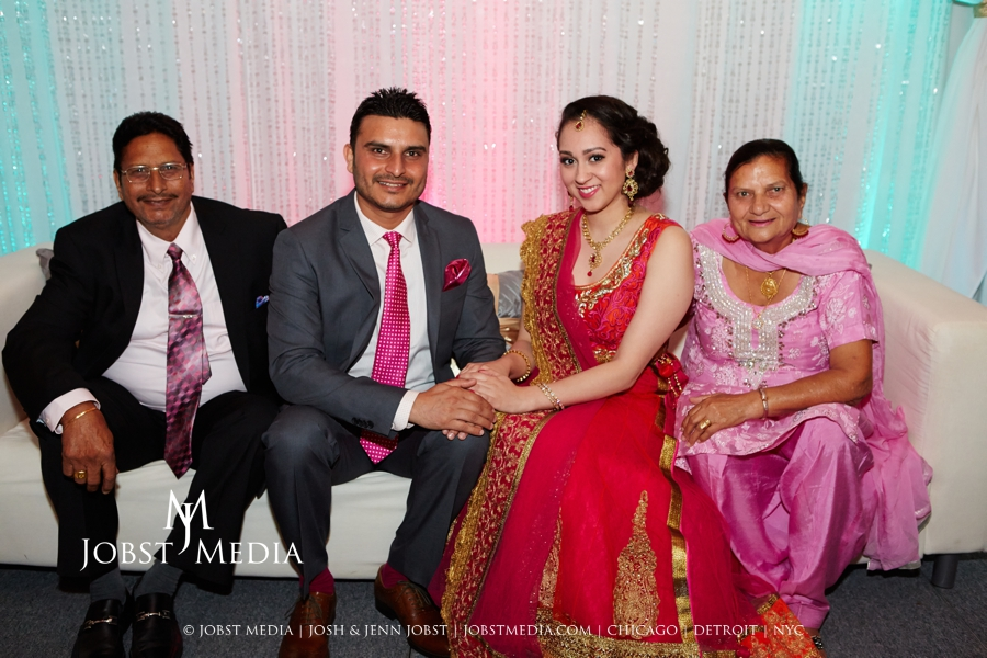 Puneet + Jatinder Engagement Party 016