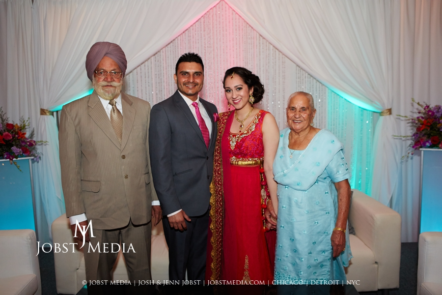 Puneet + Jatinder Engagement Party 030