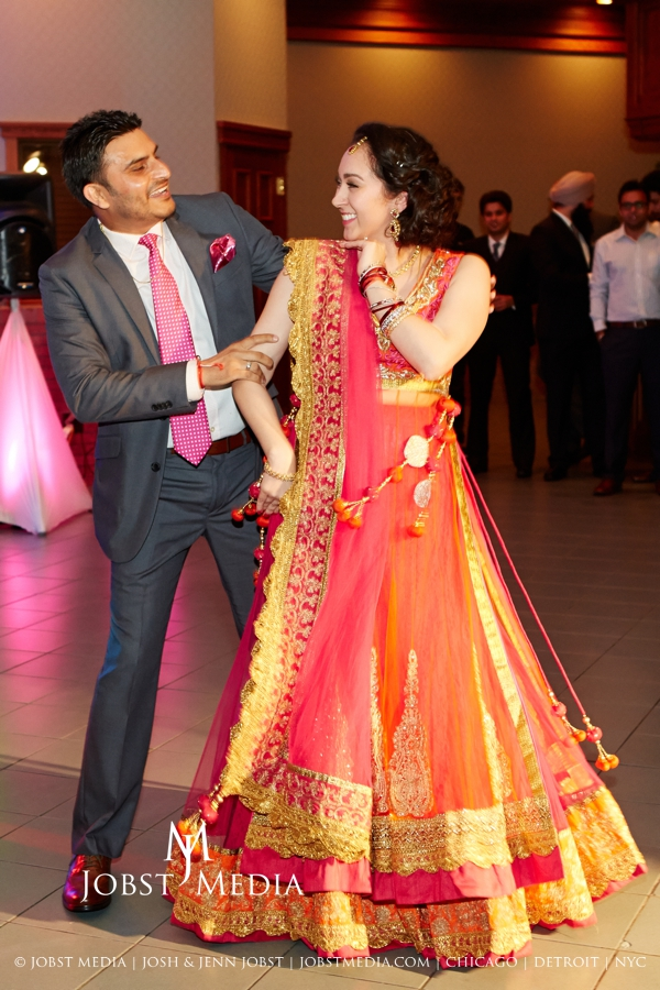 Puneet + Jatinder Engagement Party 142