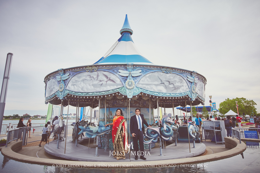 Carousel Detroit Engagement 001