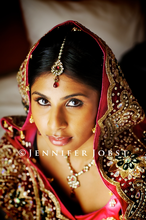 Indian Wedding Photographers Michigan gorgeous shot of Indian bride reminds me of national geographic picture