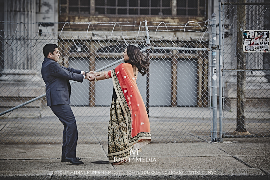 Old Train Station Detroit Engagement 013