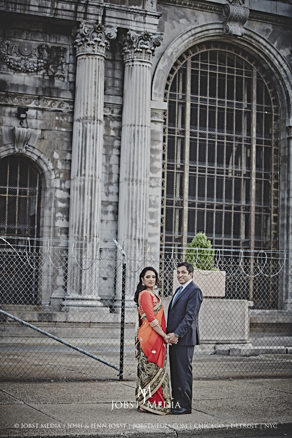 Old Train Station Detroit Engagement 015