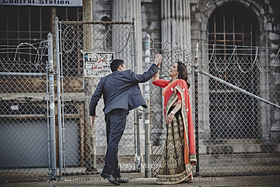 Old Train Station Detroit Engagement 020